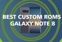 custom roms for galaxy note 8