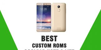 Best Custom ROMs For Coolpad Note 3 Lite