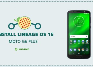 install LineageOS 16 on Moto G6 Plus
