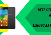 best custom rom lenovo k3 note
