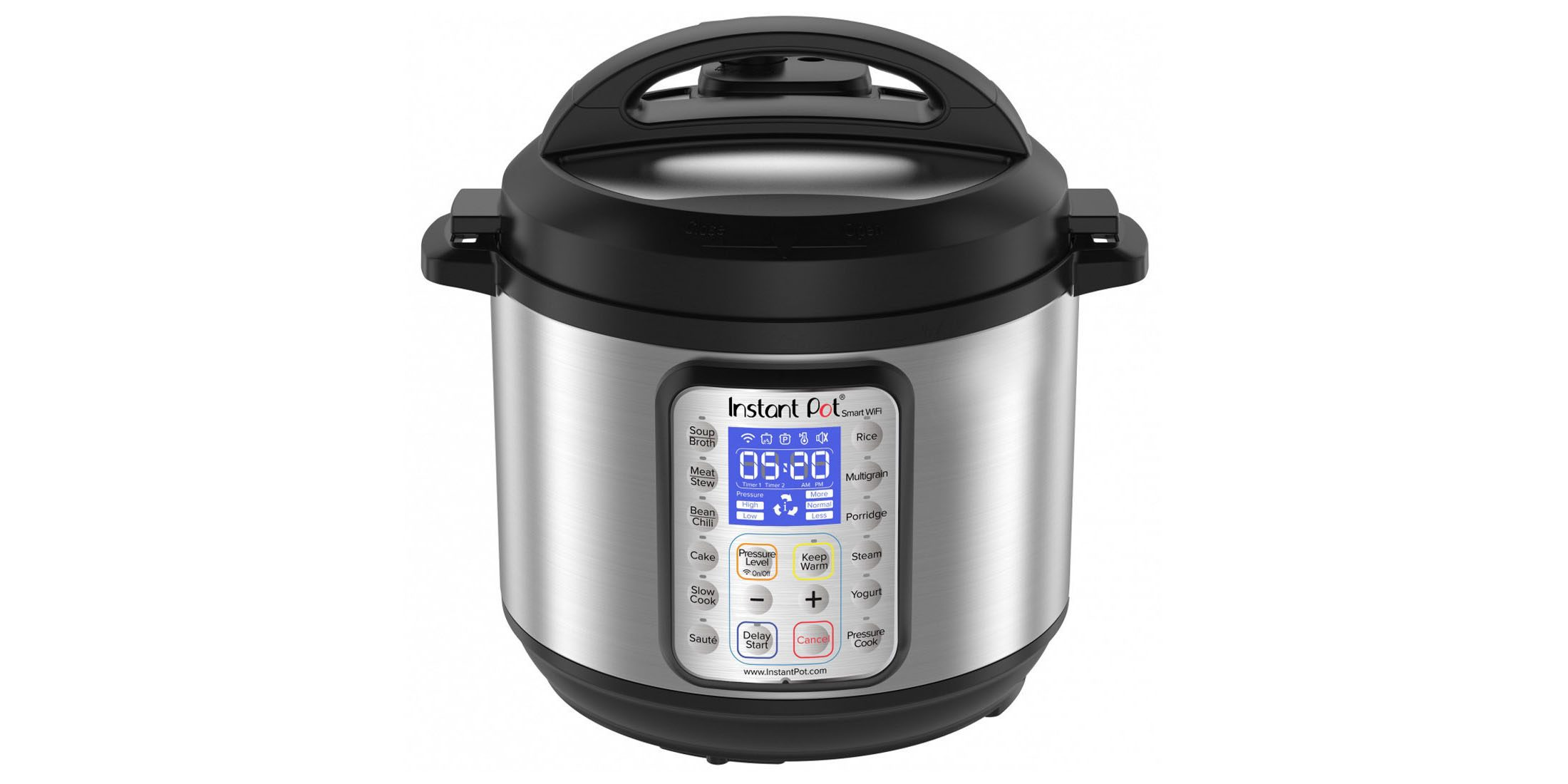 now cook with google assistant powered instant pot wifi. Black Bedroom Furniture Sets. Home Design Ideas