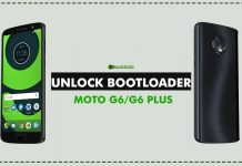 unlock bootloader of moto g6 and moto g6 plus