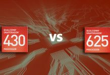 Snapdragon 430 vs 625