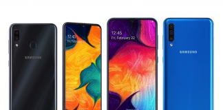 Samsung launches Galaxy A10, Galaxy A30 and Galaxy A50 in India