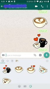 Download and Send Stickers on Whatsapp