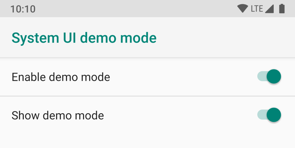Android Q System