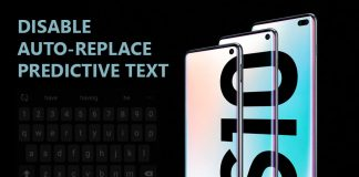 How to disable Auto-Replace and predictive text