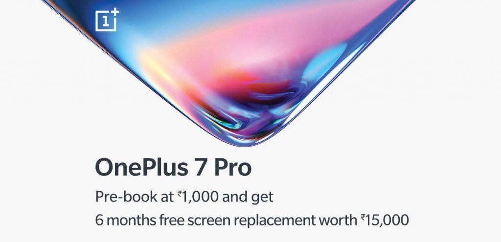 OnePlus 7 Pro free screen replacement