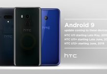 HTC-U11-U12-Android-Pie-Update-Schedule