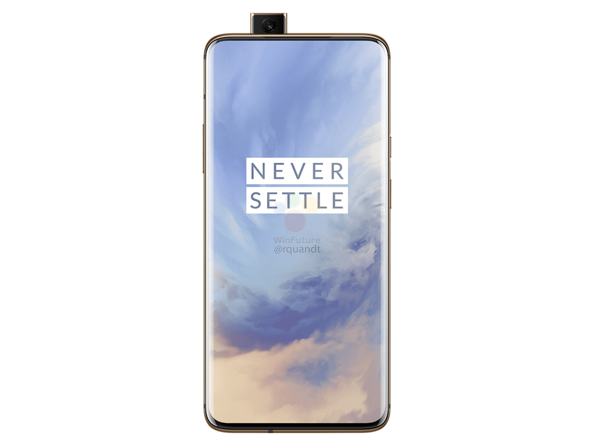OnePlus-7-Pro-Almond-Front