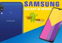 Samsung Galaxy M10, M20, and M30 Android Pie Update