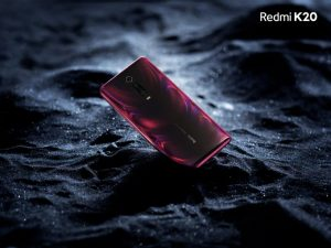 redmi k20 press render