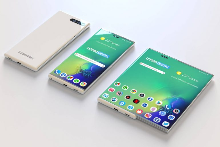 Expandable Display for Galaxy S11
