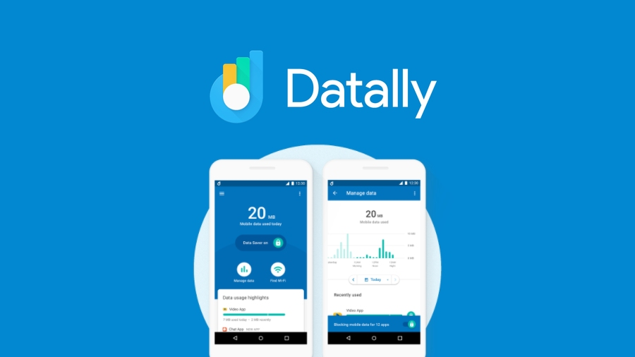 Google Datally Data Monitoring App
