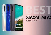 best custom roms xiaomi mi A3