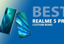 Best Custom ROMS for Realme 5 Pro