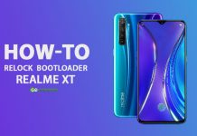 How to relock bootloader Realme XT