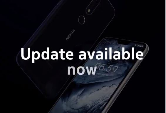 Nokia 6.1 plus Update