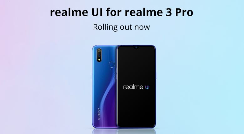 Realme 3 Pro Android 10 Update
