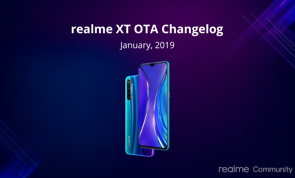 realme xt january security patch 2020