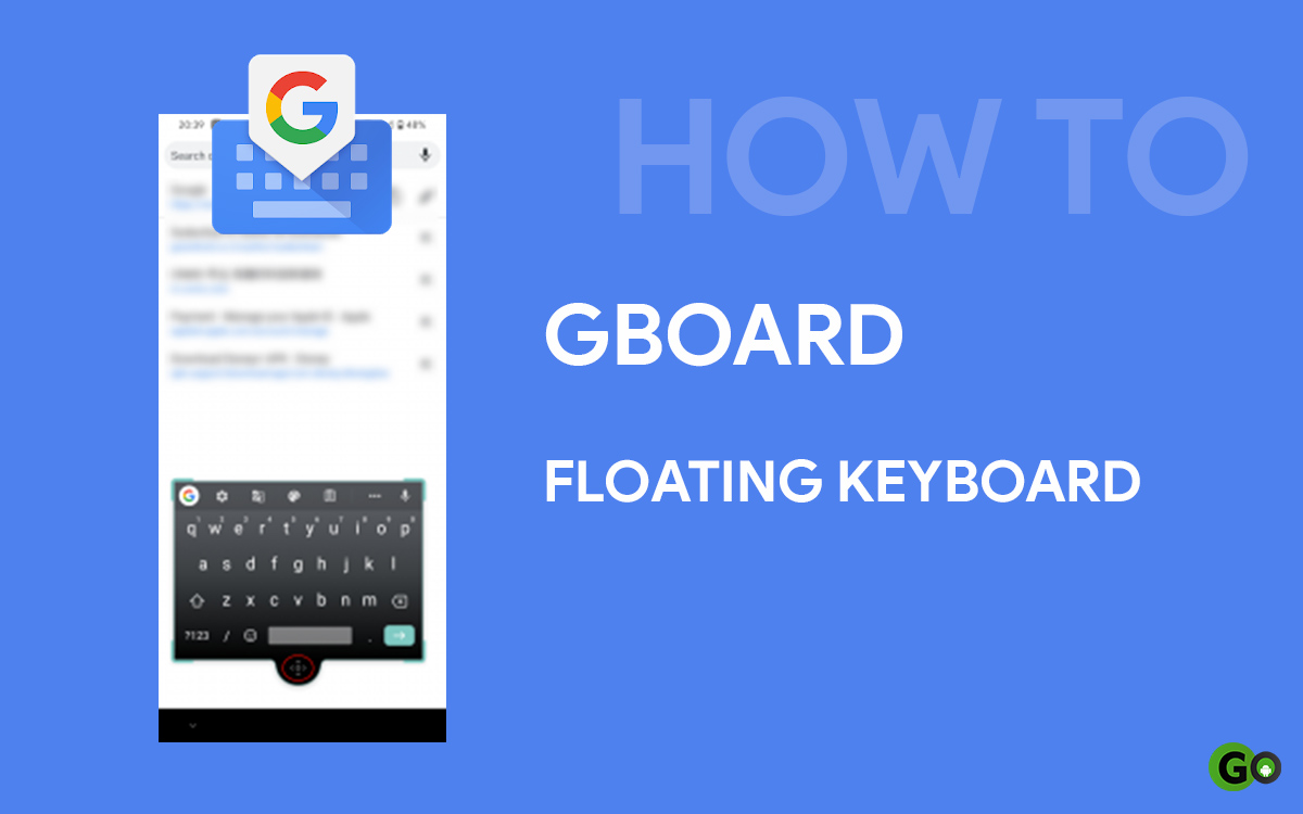 gboard floating keyboard