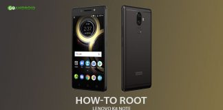 how to root Lenovo K8 Note