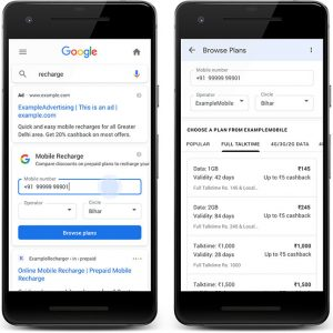 Google mobile-recharge