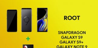 root snapdragon galaxy s9 and note 9