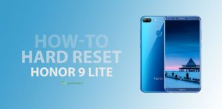 How to Hard Reset Honor 9 Lite