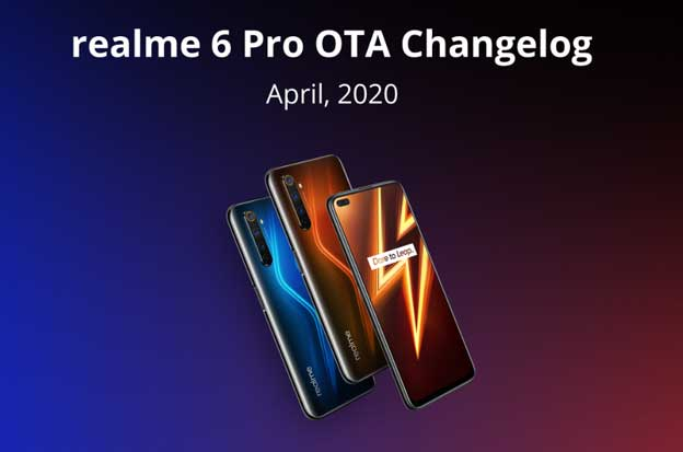 Realme 6 Pro April Security Update