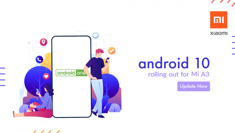 mi a3 europe android 10 update