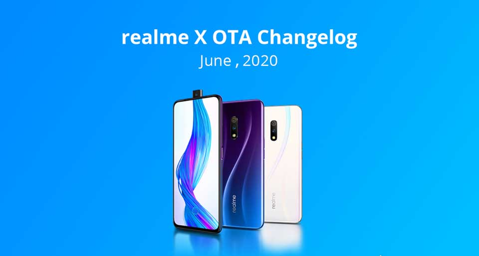Realme X June 2020 Secuirty Patch