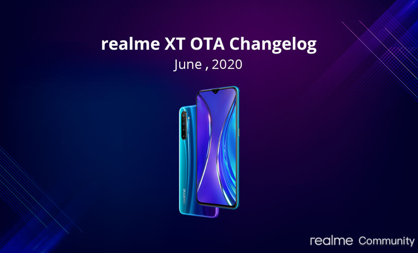 Realme XT June Security patch update