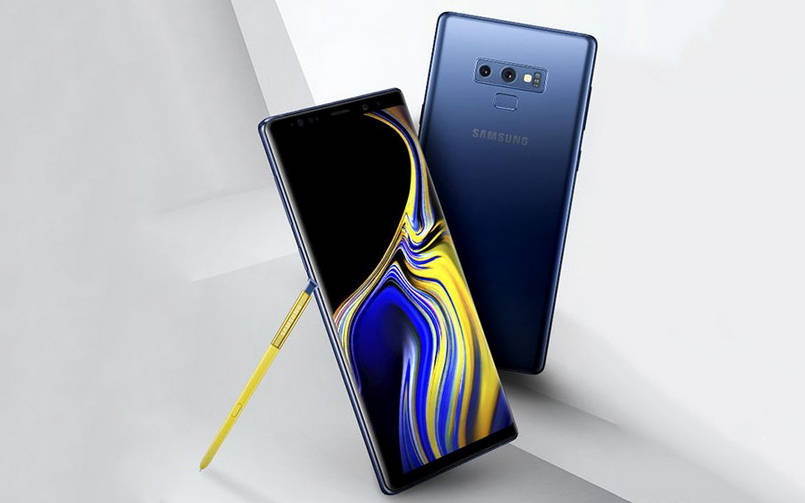 note 9 update germany