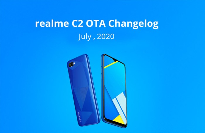 Realme C2 receiving July 2020 Security Patch update