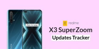 Realme X3 SuperZoom Updates Tracker
