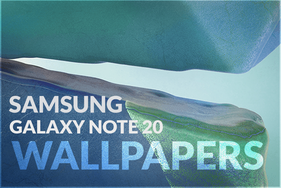 Download Samsung Galaxy Note 20 official wallpapers
