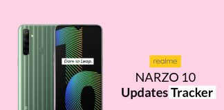 Realme Narzo 10 Security Updates Tracker