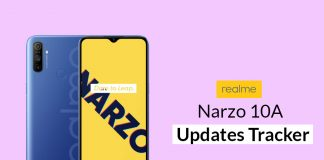 Realme Narzo 10A Security Updates Tracker