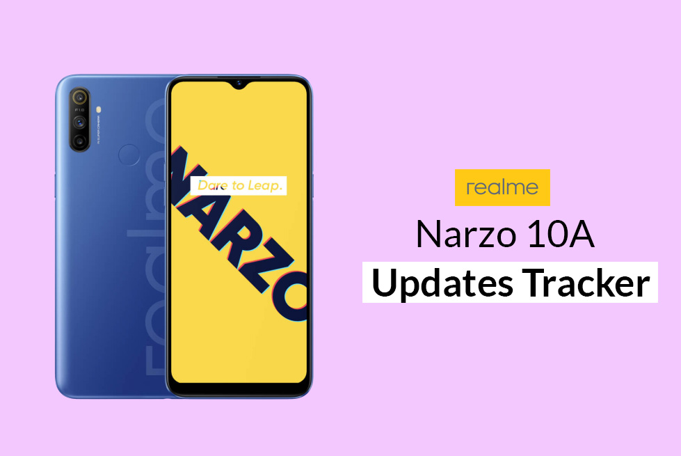[Update: August 2020 Security Patch] Realme Narzo 10A Security Updates Tracker