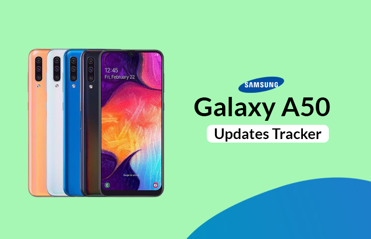 Samsung Galaxy A50 Updates Tracker