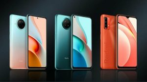 Redmi Note 9 Pro 5G, Note 9 5G, and Note 9 4G