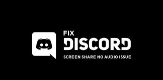 discord screen share no issue
