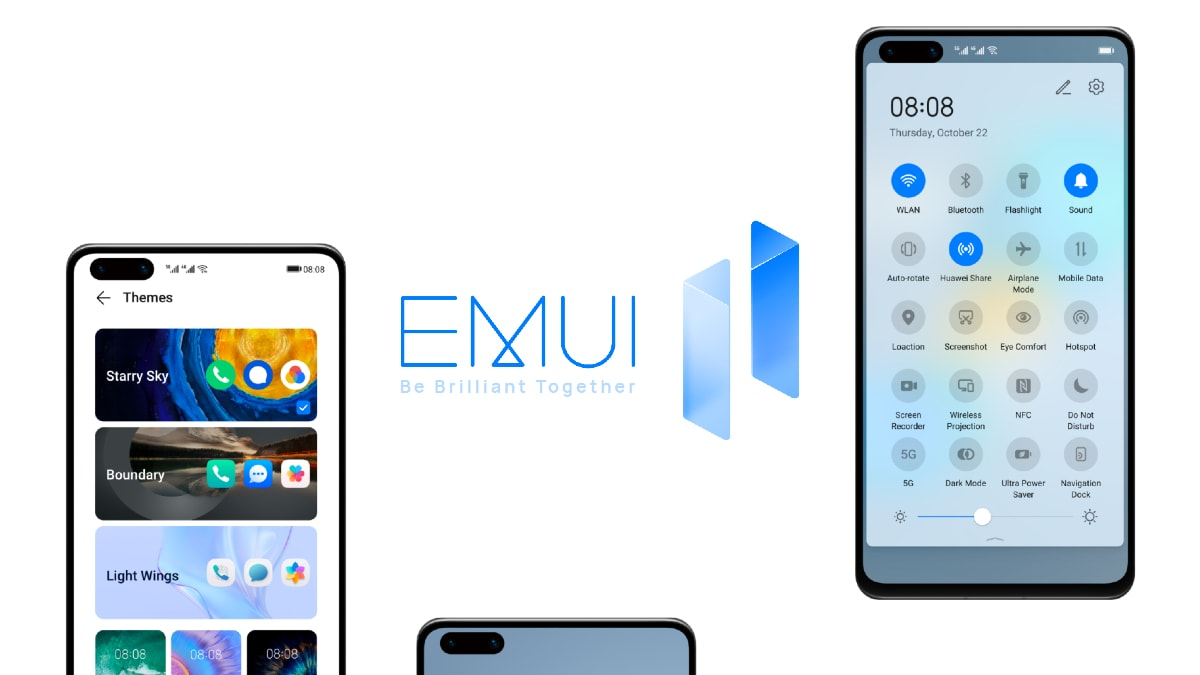 Huawei P30 and Mate 20 series receives EMUI 11 update