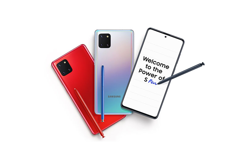 Samsung rolls out One UI 3.1 update to Galaxy Note 10 Lite