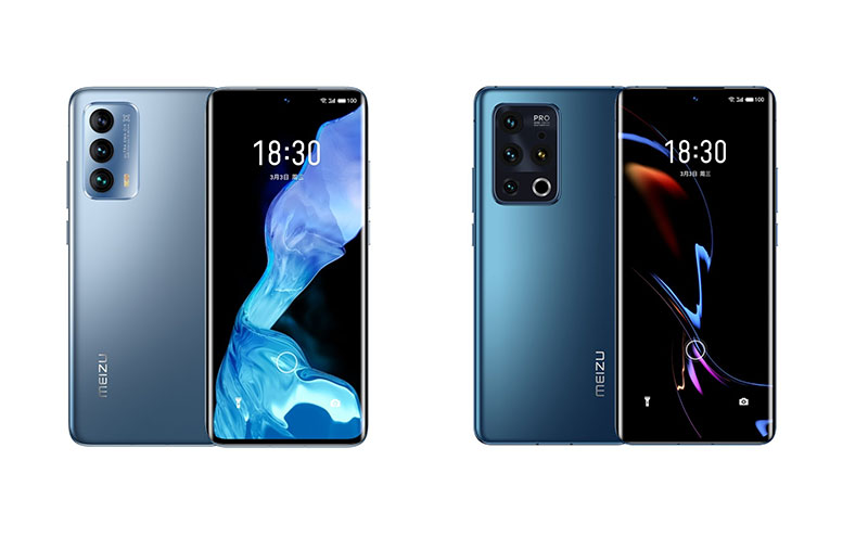 Meizu 18 and Meizu 18 Pro launched with 120Hz display and Snapdragon 888 Chipset respectively