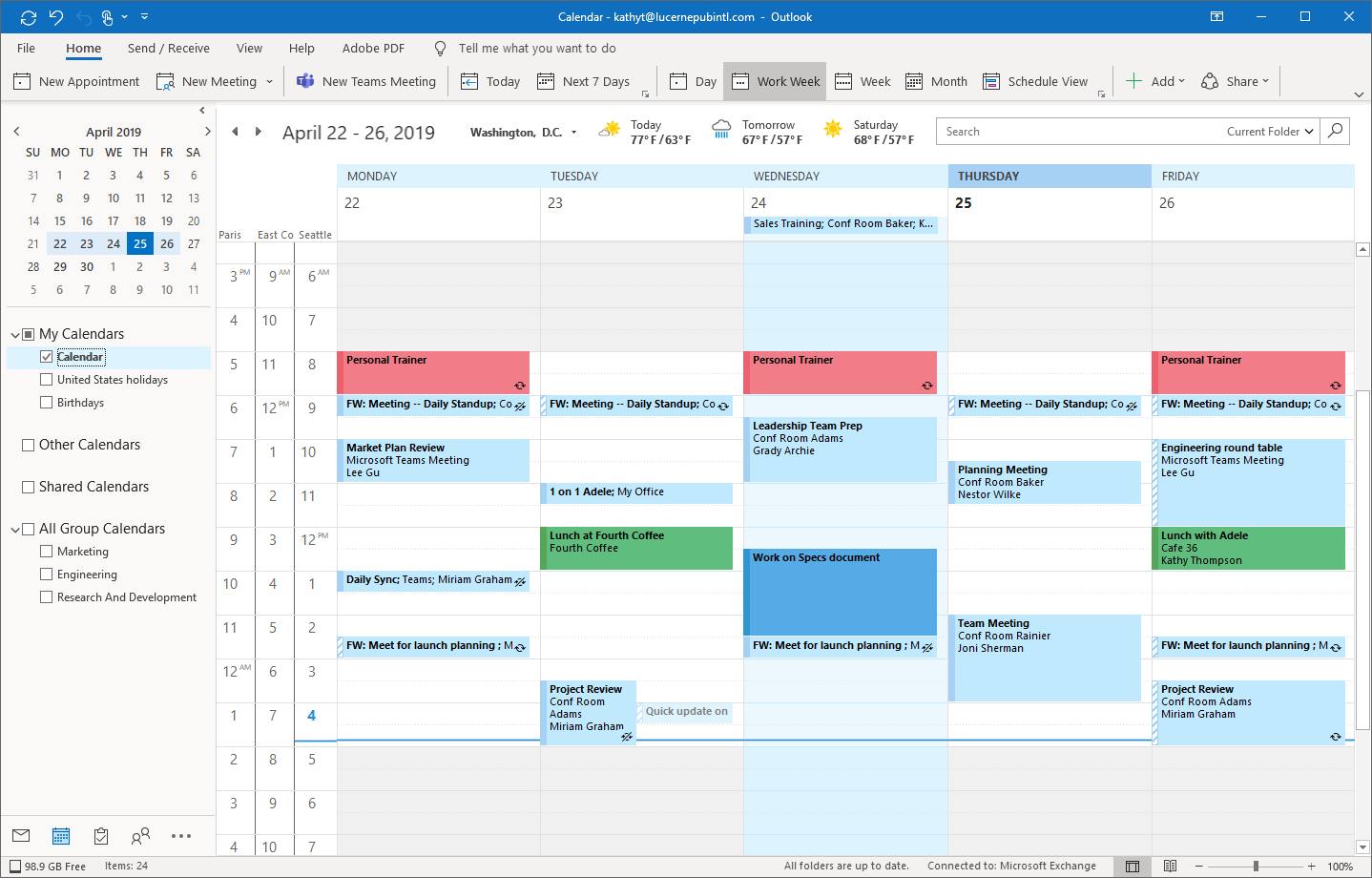 Microsoft Outlook's Calendar gets a refurnished interface with new features