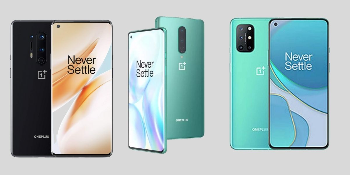 OnePlus 8, 8 Pro and 8T
