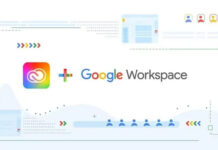 Adobe Creative Cloud Google Workspace