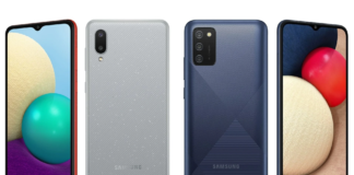 Galaxy A02 and A02s